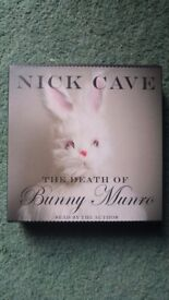 Nick Cave - 'The Death of Bunny Munro' audio book + dvd + postcards
