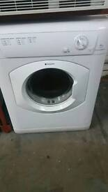 HOTPOINT WHITE TUMBLE DRYER 3 MONTHS GUARANTEE