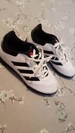 White Adidas astro boot size 13