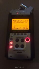 Zoom h4n recorder USED A FEW TIMES BUT IN VERY GOOD CONDITION!TEXT 07399407122 - Only the recorder