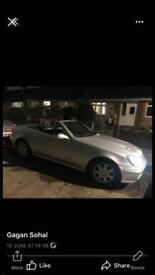 Mercedes Benz slk200 kompressor only 92k grab a bargain £1,199 px welcome golf Audi BMW r6