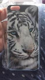 White tiger case iPhone 6/6s
