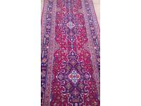 Persian Runner Handmade from Tabriz - 382cm x 95cm