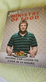 Jamie's Ministry of Food Cook Book. New.
