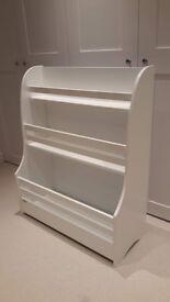 Kids / Children Bookcase / Bookshelf - white - in great condition