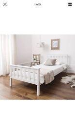 Single bed white pine.