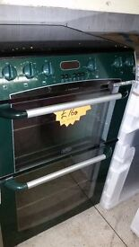 BELLING COOKER- GREEN- DOUBLE DOOR - 644CH