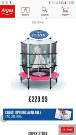 Frozen trampoline