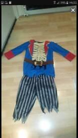 Pirate skellington costume
