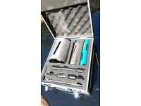 core drill bit set diamond erbauer and carry case used