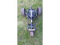 electic hill billy terrain golf trolley