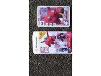 Morrisons BIG HERO 6 Cards