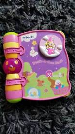 Vtech Peek-A-Boo Electronic Nursery Rhymes Songs Book with battery on