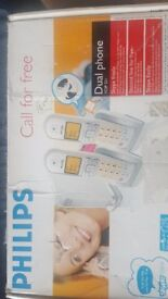 Philips dual phone for sale!