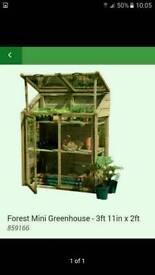 Homebase mini greenhouse potting shed