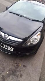 vauxhall corsa 08 plate for sale