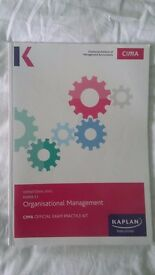 CIMA E1 Organisational Management: Exam Practice Kit.