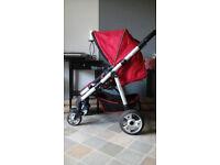 Kiddicare pushchair pram buggy stroller