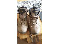 Hi Tec 50 Peaks Mens Hiking Walking Boots Brown
