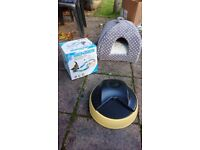 Andrew James Auto Cat Feeder and toys