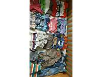 BUNDLE OF BABY BOY CLOTHES 6-12 MONTHS