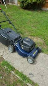 """McAllister 18"""" self propelled rotary petrol mower good condition full working order"""