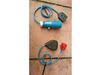 Camping electric conectors in good condition! working order! can deliver or post! Thank you