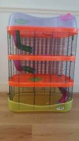 Imac fantasy Hamster Cage, 4 levels with accessories