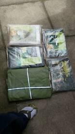 Rain cover sheets