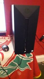 """Hp pavillion gaming tower and 23"""" screen"""