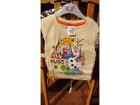 Frozen Olaf T-shirt brand new