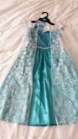 Ice Princess Dress Age 5 - 7