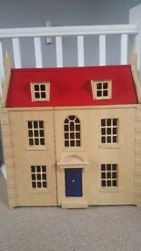 John Lewis Dolls House with Furniture
