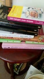 8 cook books