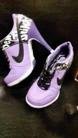 Nike trainer heel