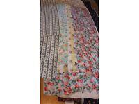 Laura Ashley furnishing fabric lengths