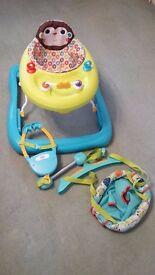 Bright Starts Baby Door Bouncer & Walker