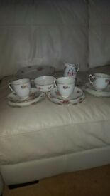 Assorted Adderley fine bone china tea services