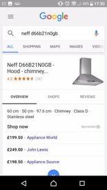 Neff cooker hood