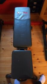 Body Max Bench and squat rack