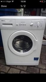 Beko washing machine 5kg 1000rpm 3 months warranty FREE LOCAL DELIVERY AND FITTING