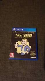 Fallout 4 Game Of The Year Edition on ps4