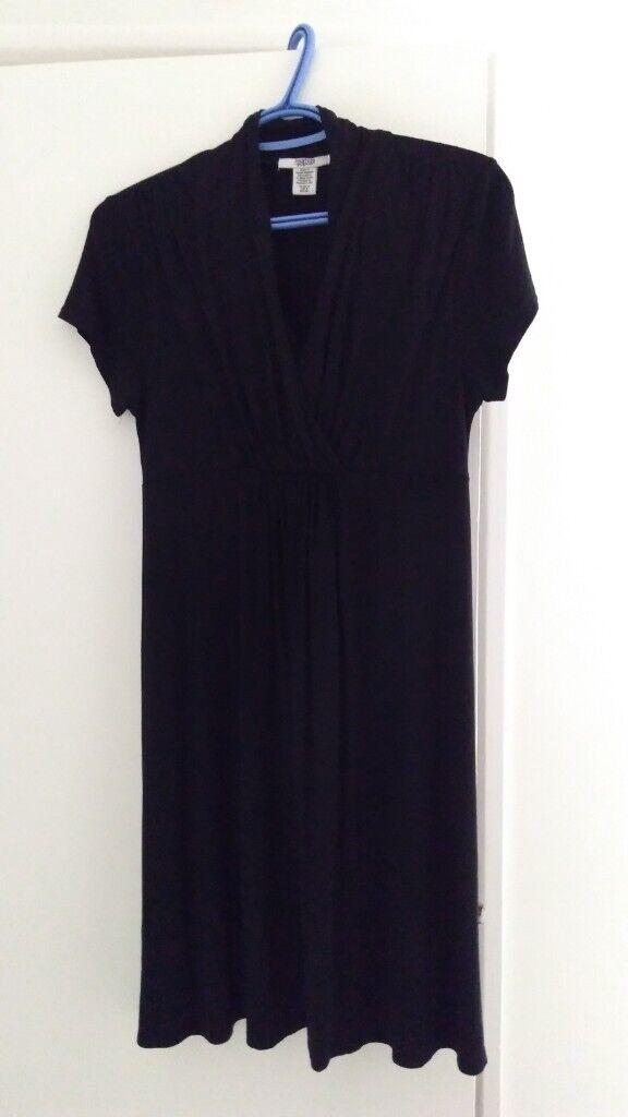 a10943974e28b Mamas & Papas Black Maternity and Nursing Dress / size 12 | in ...