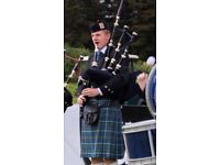 Event bagpiper in Glasgow (but can travel)