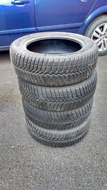 Full set of 165 60 R14 tyres