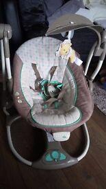 2 in 1 baby swing