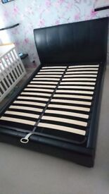 Double ottoman bed from dfs for sale