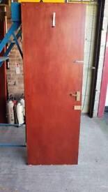 Solid Fire Door