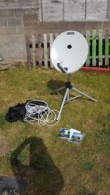 Maxview Omnisat satelite dish