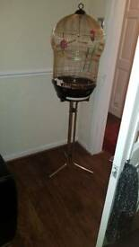 Birdcage and detachable stand